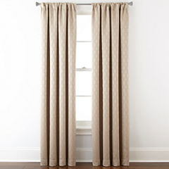 Studio™ Luna Rod-Pocket Blackout-Lined Curtain Panel