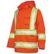 Work King High-Visibility Rain Jacket