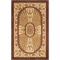 Momeni® Elizabeth Hand-Carved Wool Rectangular Rug