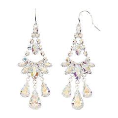 Vieste Rhinestone Chandelier Earrings