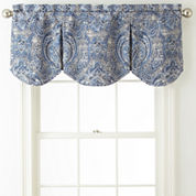 Royal Velvet Florence Frontenac Rod-Pocket Valance