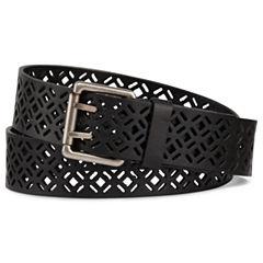 Diamond-Design Cutout Belt