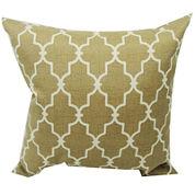 Garden Gate Trellis Outdoor Pillow