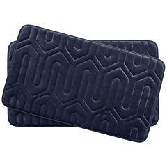 Bounce Comfort Thea Memory Foam 2-pc. Bath Mat Set