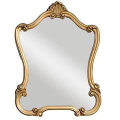 Walton Hall Gold Wall Mirror