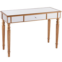 Galewood Mirrored Console Table