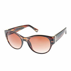 Nicole By Nicole Miller Full Frame Rectangular UV Protection Sunglasses-Womens