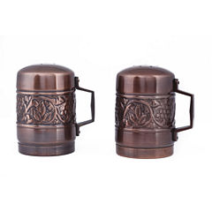 Old Dutch Antique Embossed Heritage Stovetop Saltand Pepper Set
