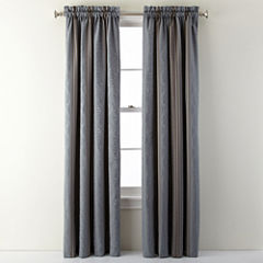Royal Velvet® Carissa Rod-Pocket Curtain Panel