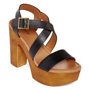 Bamboo Blessed Platform Sandals