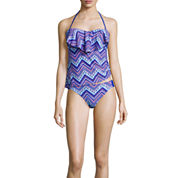 Arizona Chevron Tankini Swim Top or Hipster Swim Bottom - Juniors