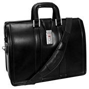 McKlein Morgan Expandable Laptop Briefcase