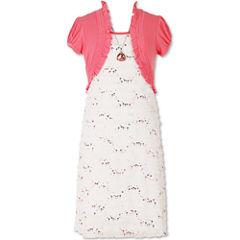 Speechless Short Sleeve Cap Sleeve Fit & Flare Dress - Big Kid Girls
