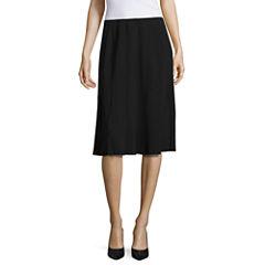 Worthington Pleated Car-Wash Skirt
