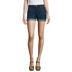 a.n.a Denim Shorts-Talls