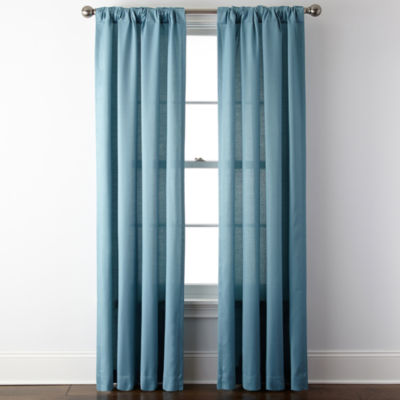 JCPenney Home™ Rialto Rod Pocket/Back Tab Curtain Panel