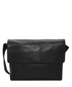 Carriage Leather Dart Messenger