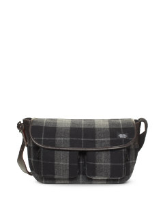 Plaid Bonded Wool Backroad Messenger