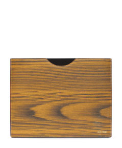 Woodgrain Leather Landscape Tablet Slip