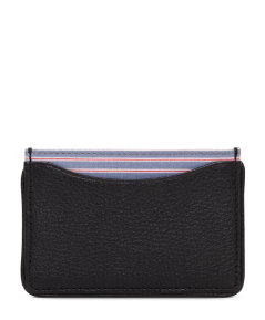 Narrow Stripe Credit Card Holder