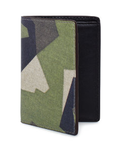 Swedish M90 Camo Vertical Flap Wallet