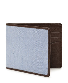 Oxford & Leather Bill Holder