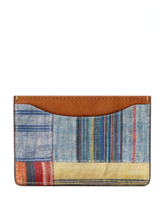 Patchwork Credit Card Holder