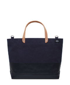 United Arrows Dipped Coal Bag