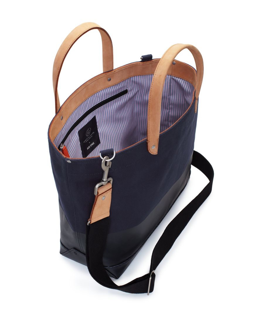 United Arrows X Jack Spade Soft Duffle And Tote Bag