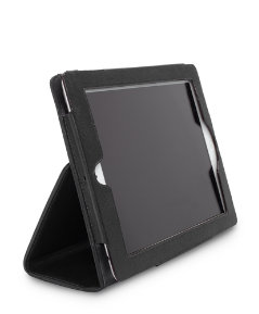 Wesson Leather Hardcover Stand Tablet Case