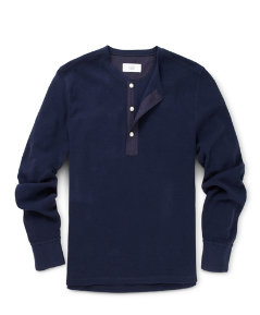Crumb Long Sleeve Henley