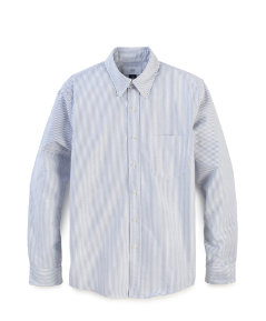 Neal Stripe Oxford Shirt