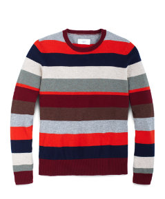 Page Stripe Cashmere Sweater