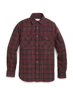 Bartley Flannel Work Shirt
