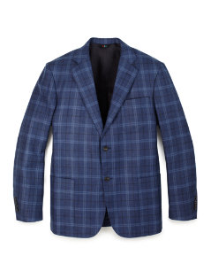 Troutman Plaid Blazer