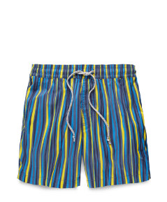 Grannis Multi-Stripe Swim Trunks