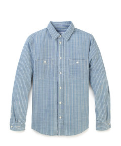 Swamper Stripe Work Shirt