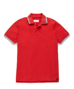 Mercer Tipped Polo