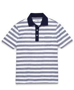 Warren Stripe Polo