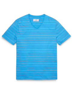 Milo Stripe V-Neck T-Shirt