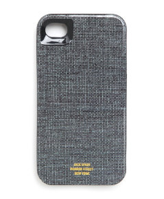 Book Cloth iPhone 4 Hard Case