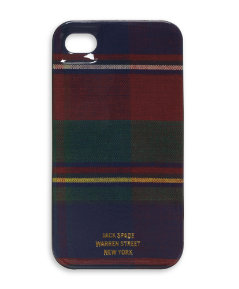 Flannel Plaid IPhone 4 Hard Case