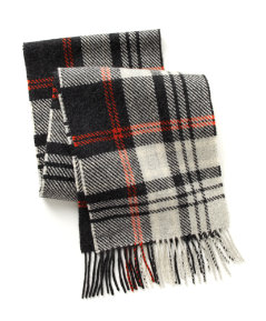 Numan Plaid Scarf
