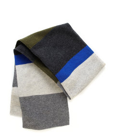 Stuart Striped Scarf