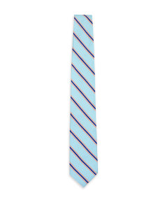 Pencil Stripe Silk Tie