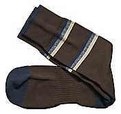 FIRST IN COMFORT CASUAL STRIPE SOCKS