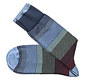 OMBRÉ STRIPE SOCKS