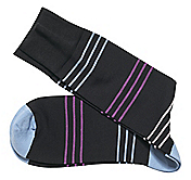 TRIPLE-STRIPE SOCKS