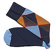 ABSTRACT ARGYLE SOCKS