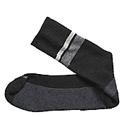 WOOL-BLEND WIDE STRIPE SOCKS